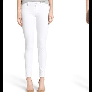 DL 1961 White Legging Jeans